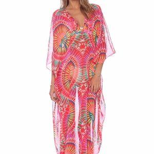 Mara Hoffman Dashiki Cover Up Dress Sz One Size